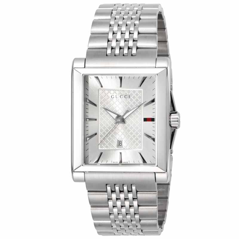 40e90fb666ce グッチ オンライン GUCCI メンズ 腕時計 レクタングル YA138403 ...
