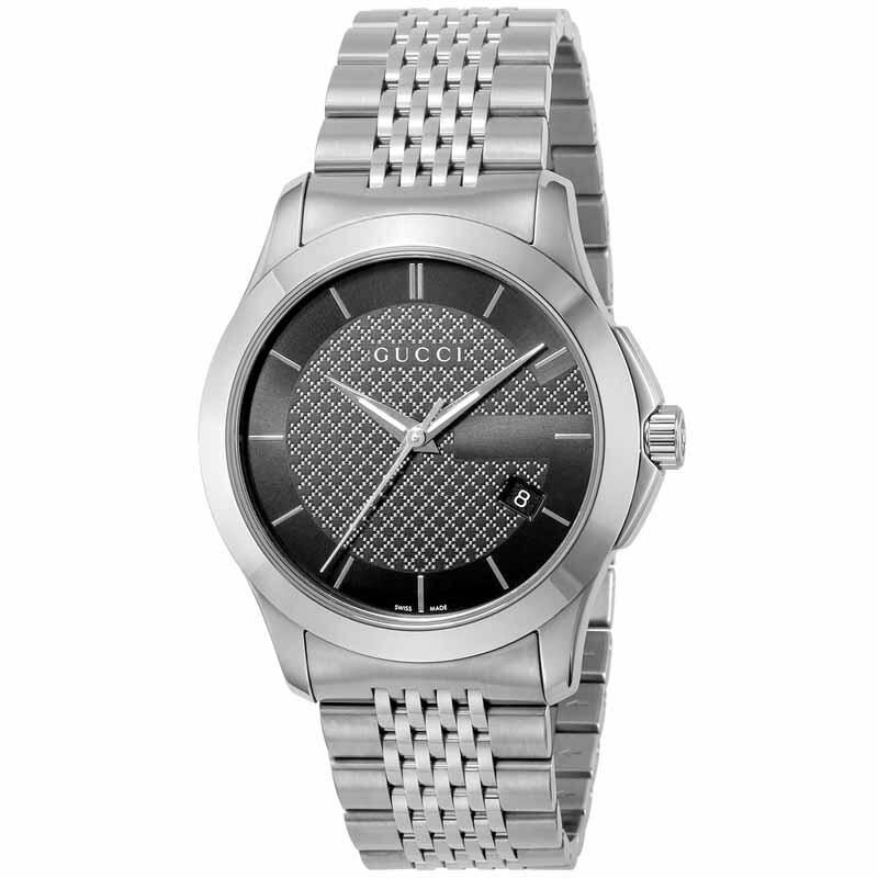 【店内全品送料無料~1/15】グッチ GUCCI腕時計 Gタイムレス YA126480 YA126481 ブラック