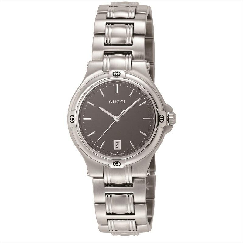 グッチ GUCCI メンズ腕時計 YA090304 9045 ブラック