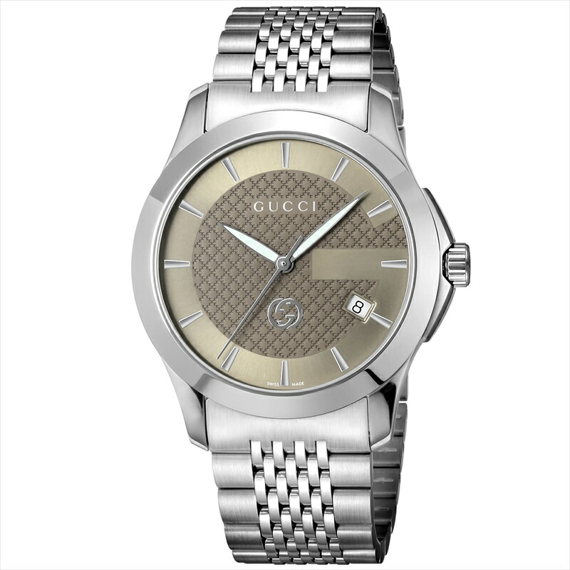 グッチ GUCCI メンズ腕時計 Gタイムレス YA1264107 ブラウン