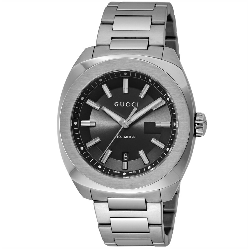 グッチ GUCCI メンズ腕時計 GG2570 YA142201 ブラック