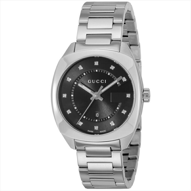 グッチ GUCCI レディース腕時計 GG2570 YA142404 ブラック