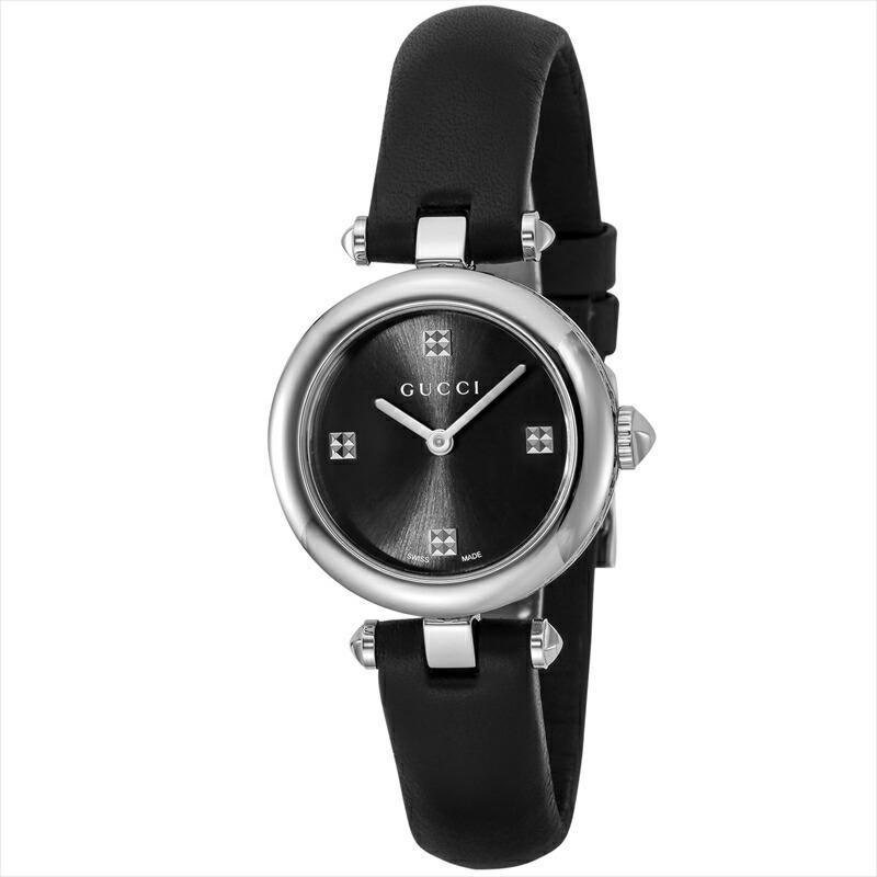 グッチ GUCCI レディース腕時計 ディアマンティッシマ YA141506 ブラック