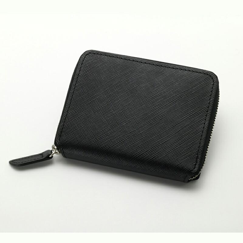 エイチアンドディ H&D ラウンドジップ財布 HDK1-14 ブラック
