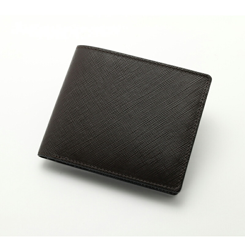 エイチアンドディ H&D 二つ折り財布 HDK1-3 ダークブラウン