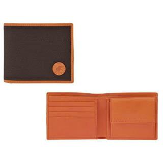 ハンティングワールド HUNTING WORLD 二つ折り財布(小銭入れ付) メンズ 674-435-DB