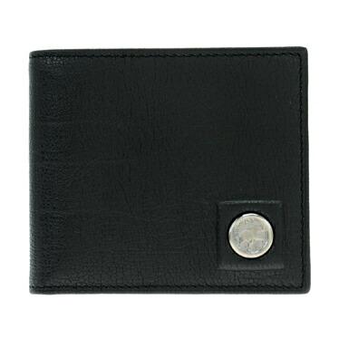 ハンティングワールド HUNTING WORLD 二つ折り財布(小銭入れ付) メンズ 575-1-233-BLK