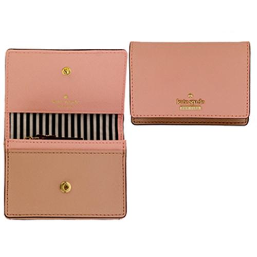 ケイトスペード KATE SPADE カードケース CAMERON STREET PWRU5096 pink sunset/toasted wheat