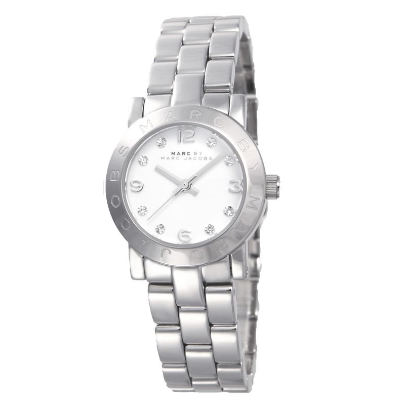マークバイマークジェイコブス MARCBYMARCJACOBS 腕時計 スモールエイミーホワイト MBM3055