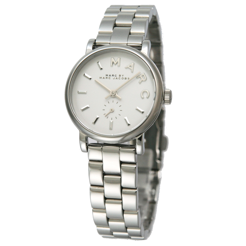 マークバイマークジェイコブス MARCBYMARCJACOBS レディス腕時計 Baker MBM3246 ホワイト