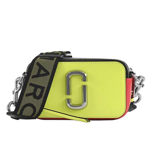マークジェイコブス MARC JACOBS ショルダーバッグ CAMERA BAG SNAPSHOT FLUORO M0014503 BRIGHT YELLOW MULTI