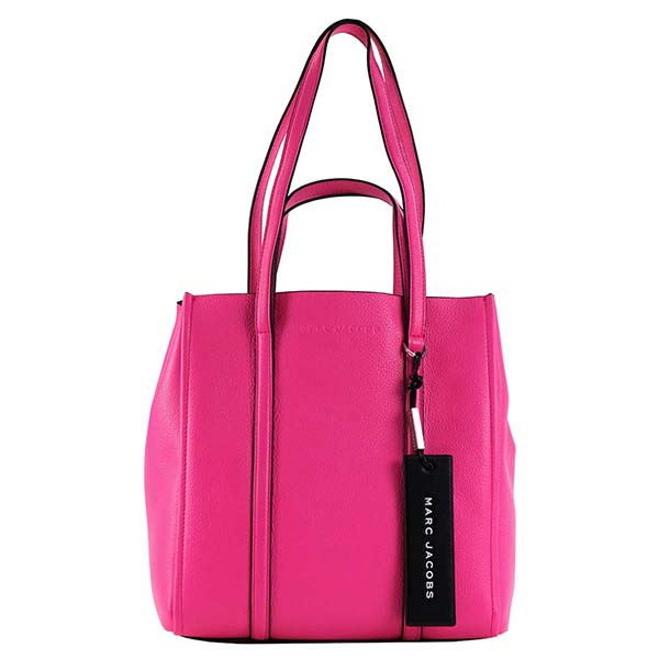 マークジェイコブス MARC JACOBS トートバッグ THE TAG TOTE 27 THE TAG TOTE M0014489 BRIGHT PINK
