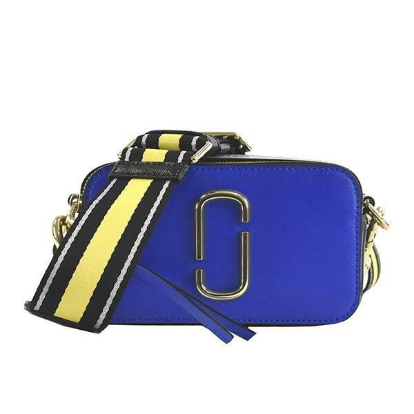 マークジェイコブス MARC JACOBS ショルダーバッグ スナップショット SNAPSHOT M0014146 CAMERA BAG 494 DAZZLING BLUE MULTI