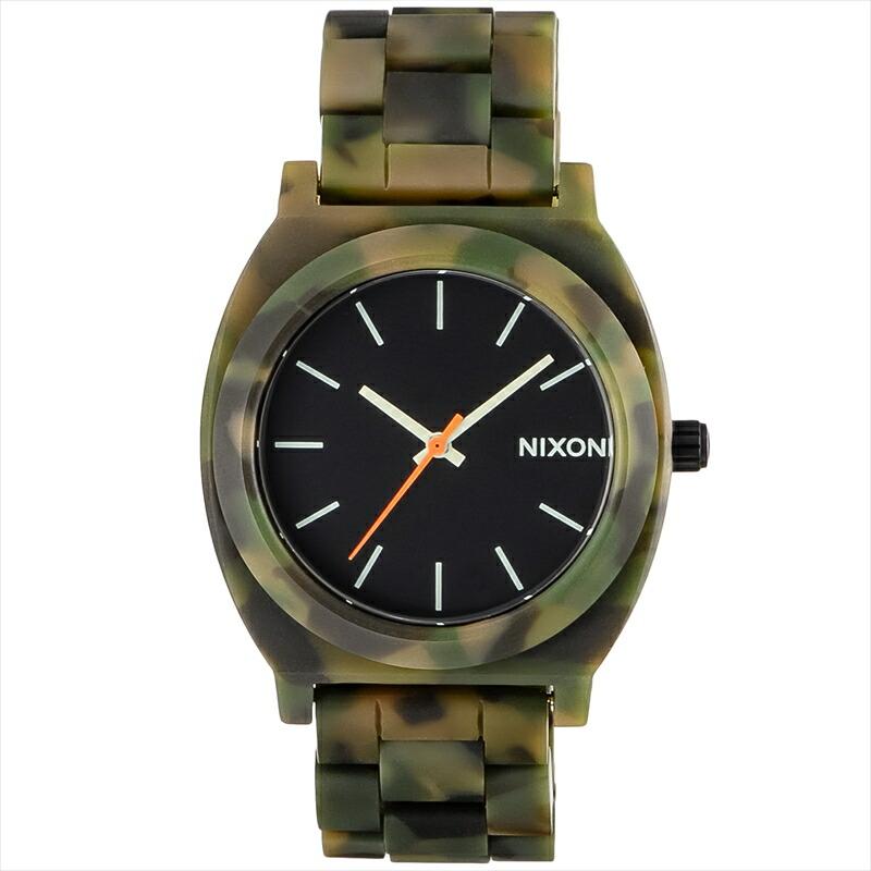 ニクソン NIXON ユニセックス腕時計 TIMETELLERACETATE A3271428 ブラック