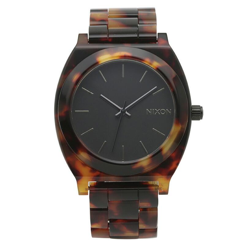 ニクソン NIXON 腕時計 A327-646 ブラック アセテート TIME TELLER ACETATE