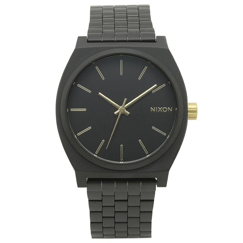 ニクソン NIXON 腕時計 A045-1041 ブラック ステンレス TIME TELLER
