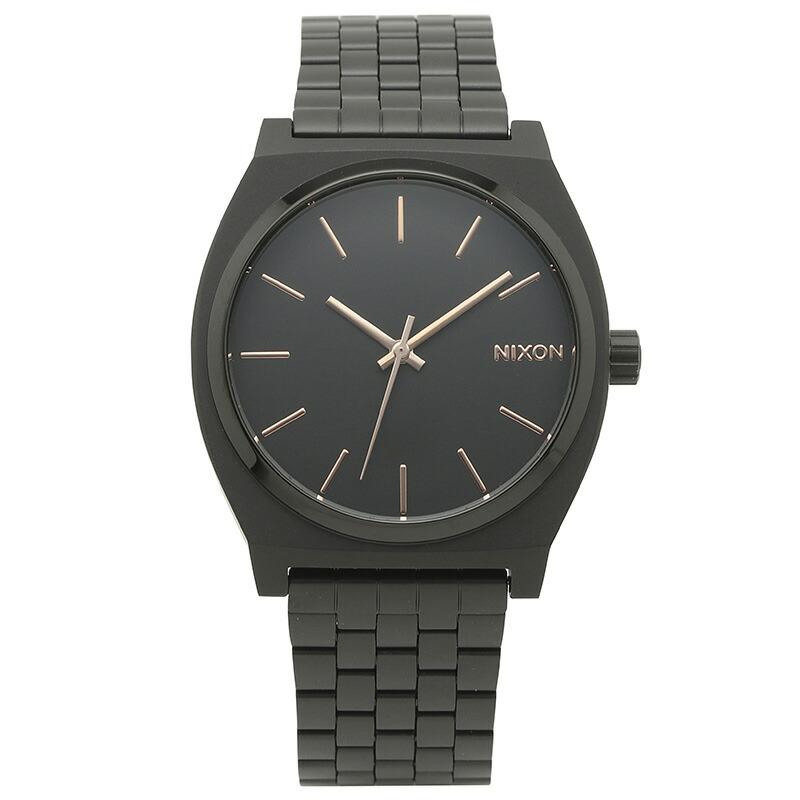 ニクソン NIXON 腕時計 A045-957 ブラック ステンレス TIME TELLER