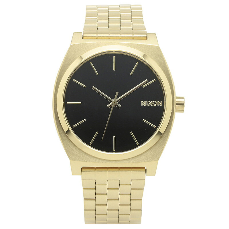ニクソン NIXON 腕時計 A045-2042 ブラック ステンレス TIME TELLER