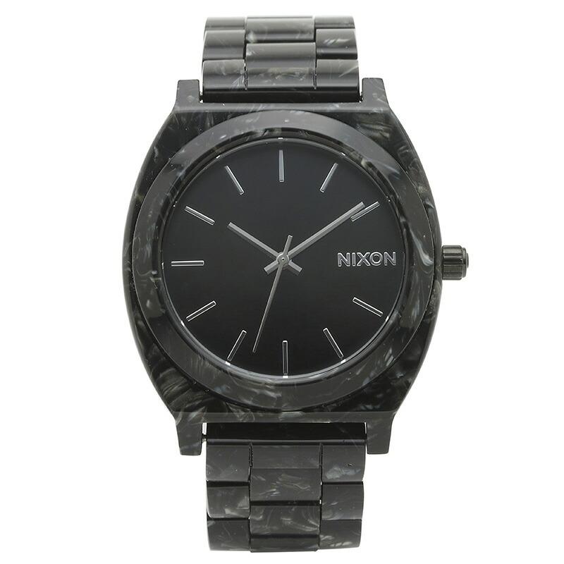 ニクソン NIXON 腕時計 A327-2185 ブラック アセテート TIME TELLER ACETATE