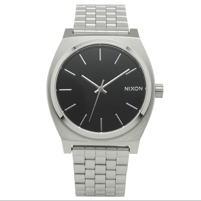 ニクソン NIXON 腕時計 A045-000 ブラック ステンレス TIME TELLER