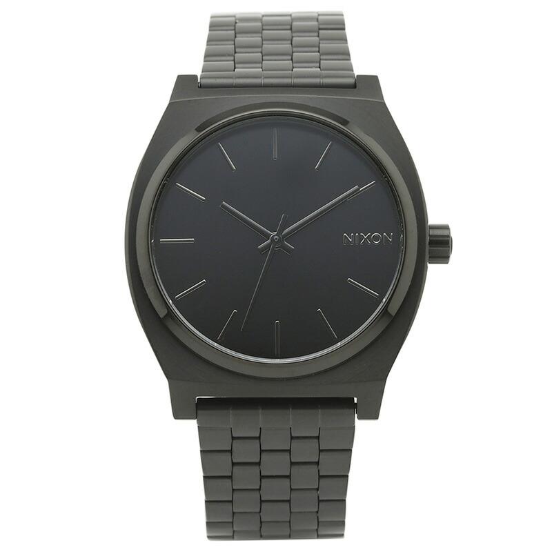 ニクソン NIXON 腕時計 A045-001 ブラック ステンレス TIME TELLER