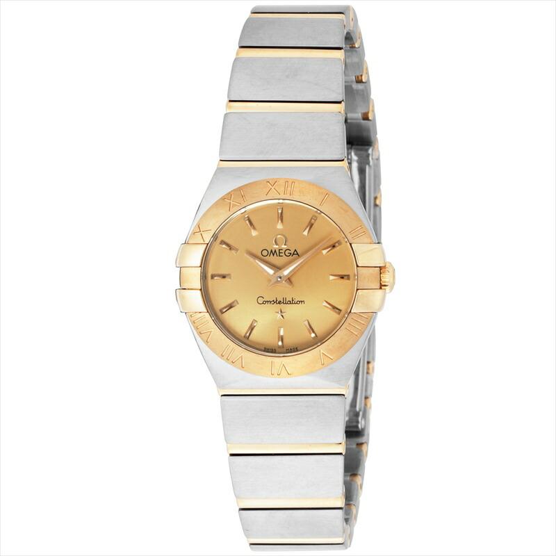 オメガ OMEGA レディース トラスト 腕時計 コンステレーション 123.20.24.60.08.001 定番キャンバス