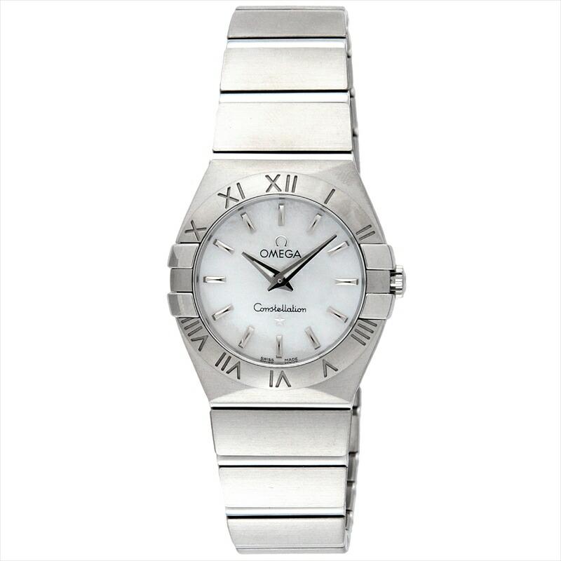 オメガ OMEGA レディース腕時計 コンステレーション 123.10.27.60.05.001 ホワイトパール