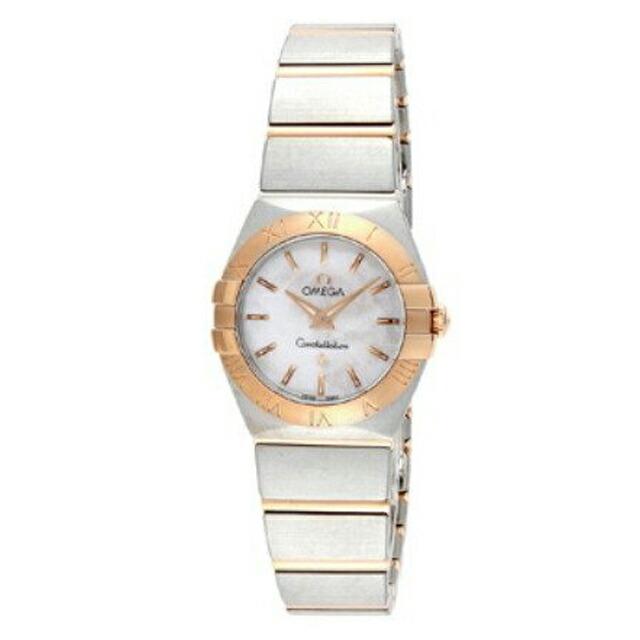 オメガ OMEGA レディース 腕時計 コンステレーション ホワイトパール 123.20.24.60.05.001