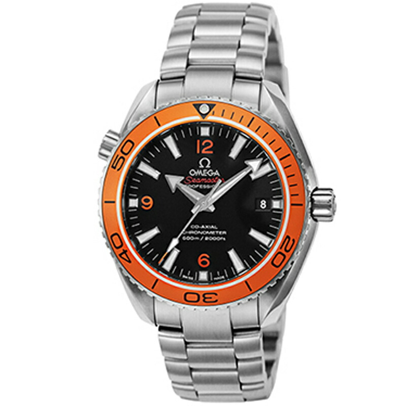 オメガ omega/ 腕時計 シーマスタープラネットオーシャン ブラック 232.30.42.21.01.002
