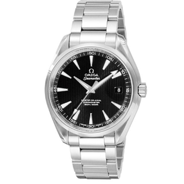 オメガ OMEGAメンズ 腕時計 シーマスターアクアテラ ブラック 231.10.39.21.01.002