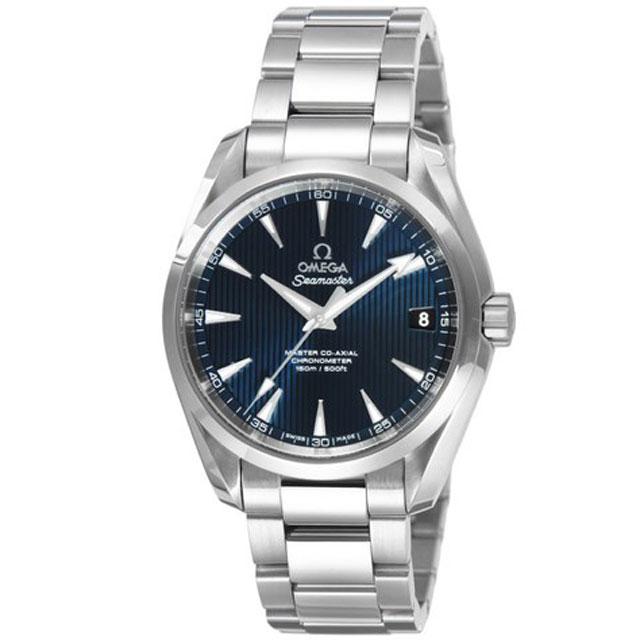オメガ OMEGAメンズ 腕時計 シーマスターアクアテラ ブルー 231.10.39.21.03.002