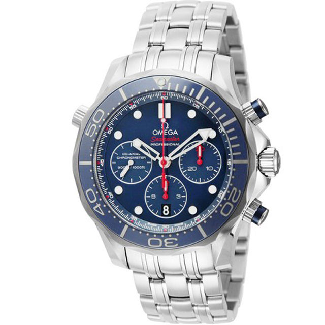 オメガ omega/ メンズ 腕時計 シーマスター300M ブルー 212.30.44.50.03.001