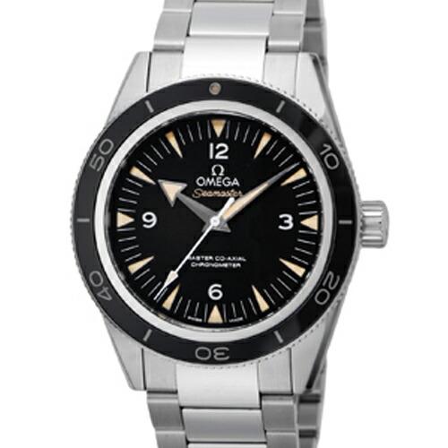 【店内全品送料無料~3/11】オメガ omega/ メンズ 腕時計 シーマスター300Mマスターコーアクシャル ブラック 233.30.41.21.01.001
