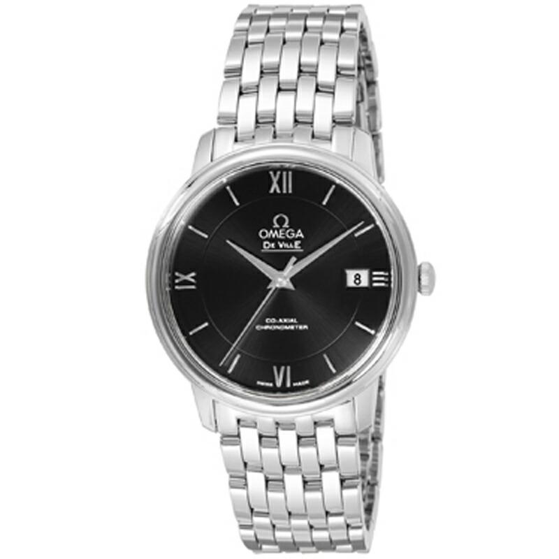 オメガ omega/ 腕時計 デ・ビル ブラック 424.10.37.20.01.001
