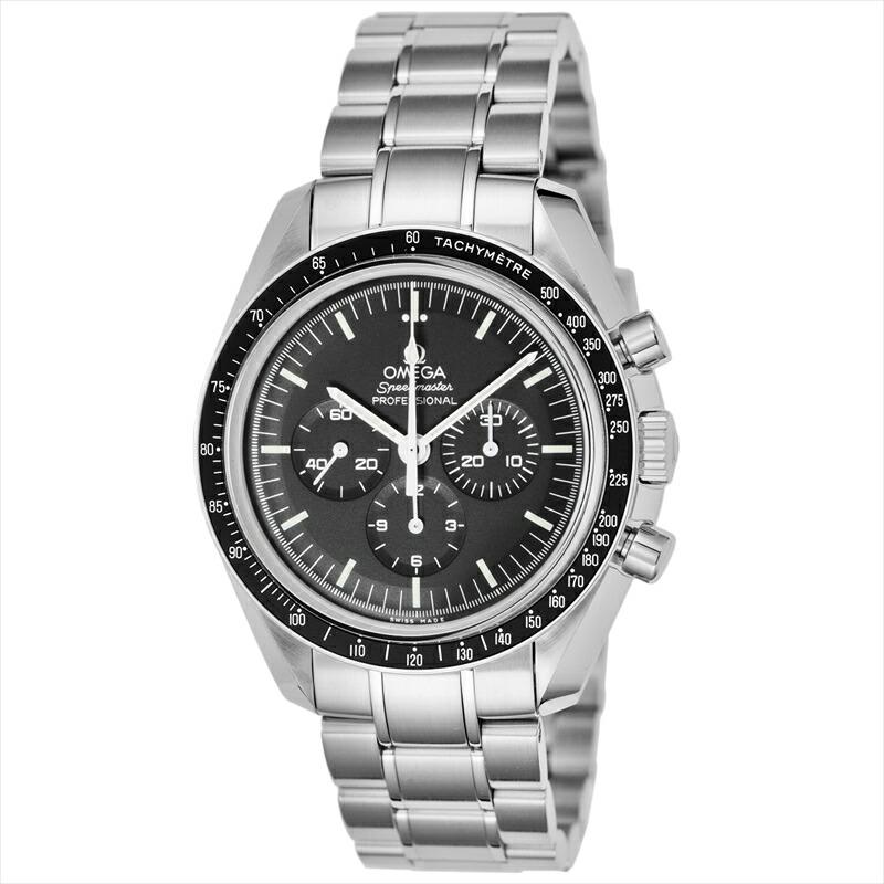 オメガ OMEGA メンズ腕時計 スピードマスター プロフェッショナル 311.30.42.30.01.006 ブラック