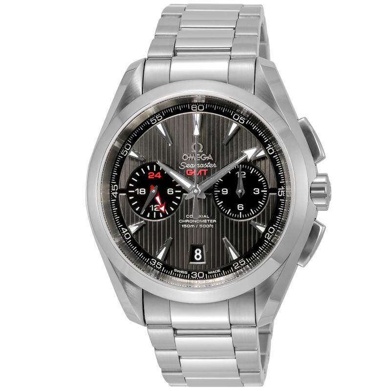 オメガ OMEGA 腕時計 シーマスター アクアテラ GMT 231.10.43.52.06.001