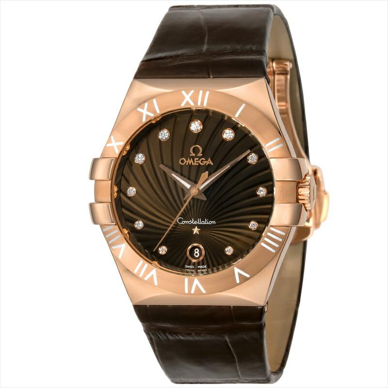 オメガ OMEGA レディース腕時計 コンステレーション 123.53.35.60.63.001 ブラウン