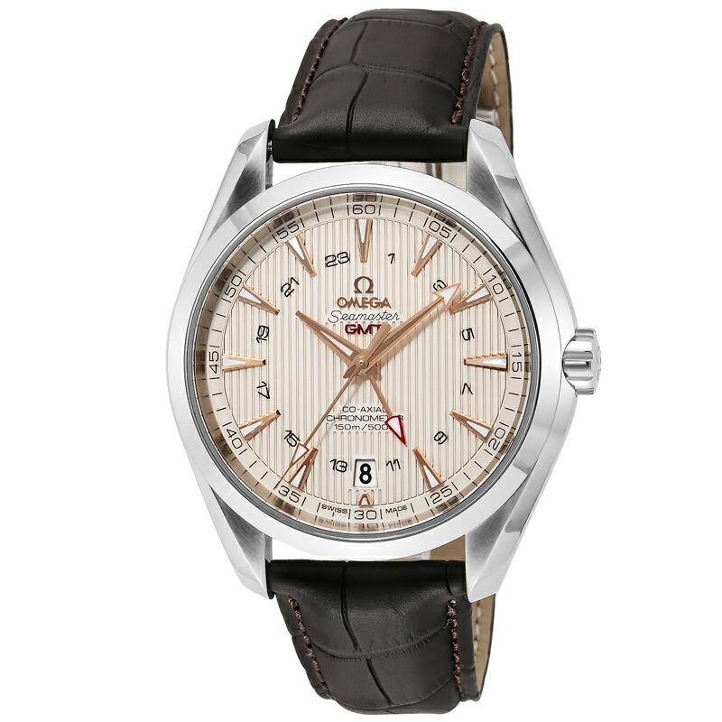 オメガ OMEGA メンズ 腕時計 シーマスターアクアテラ 革ベルト 231.13.43.22.02.004
