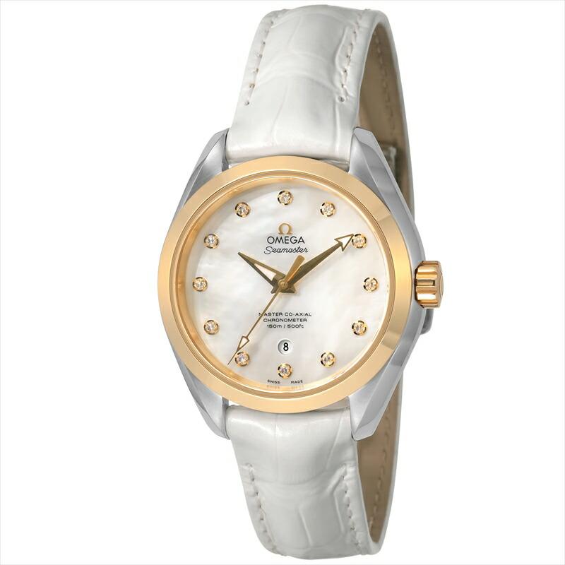 オメガ OMEGA レディース腕時計 シーマスターアクアテラ 231.23.34.20.55.002 ホワイトパール