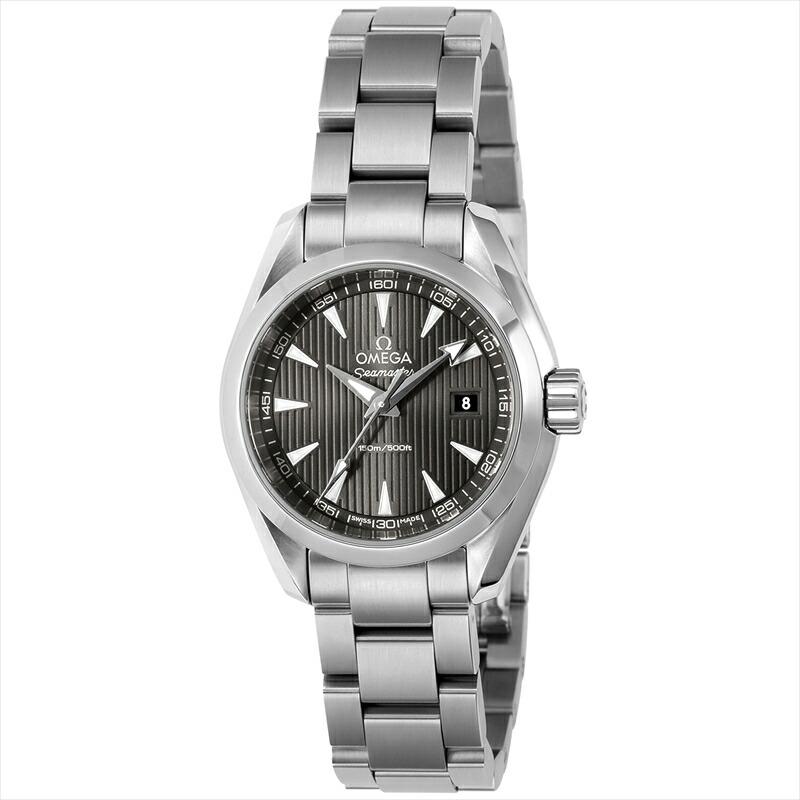 オメガ OMEGA 腕時計 シーマスターアクアテラ レディース 231.10.30.60.06.001 グレー