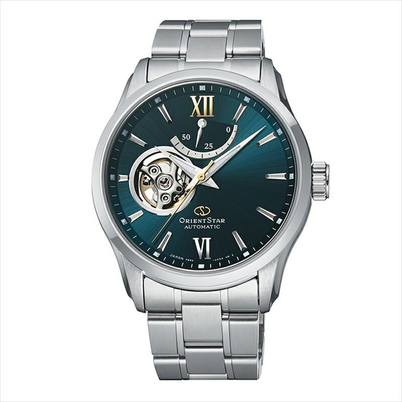 祝日 オリエントスター ORIENT 完売 STAR メンズ 腕時計 RK-AT0003E グリーン