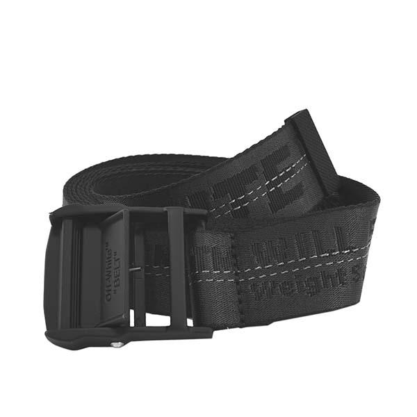 オフホワイト OFF-WHITE ベルト CLASSIC INDUSTRIAL BELT BLACK BLACK OWRB009E19223098 BLACK BLACK