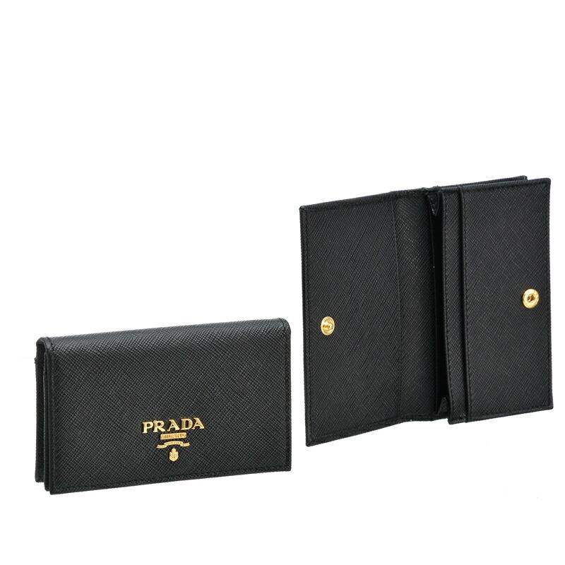 プラダ PRADA レディース カードケース NERO 1MC122