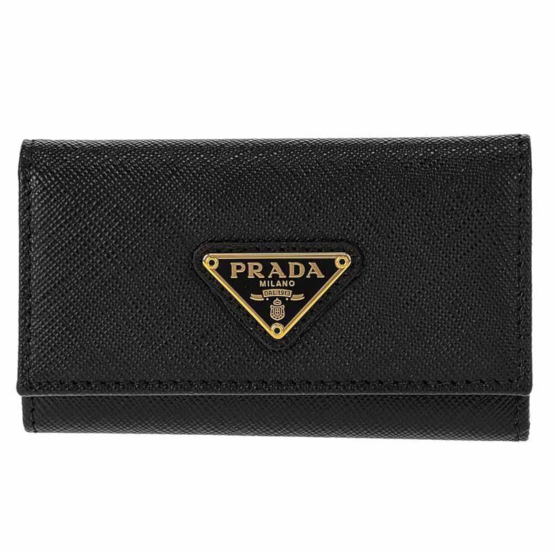 プラダ PRADA キーケース 1PG222 NERO
