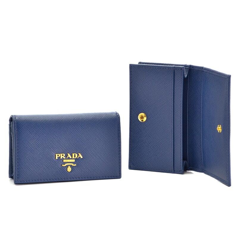 プラダ PRADA カードケース SA/M/O 1MC122 BLUETTE
