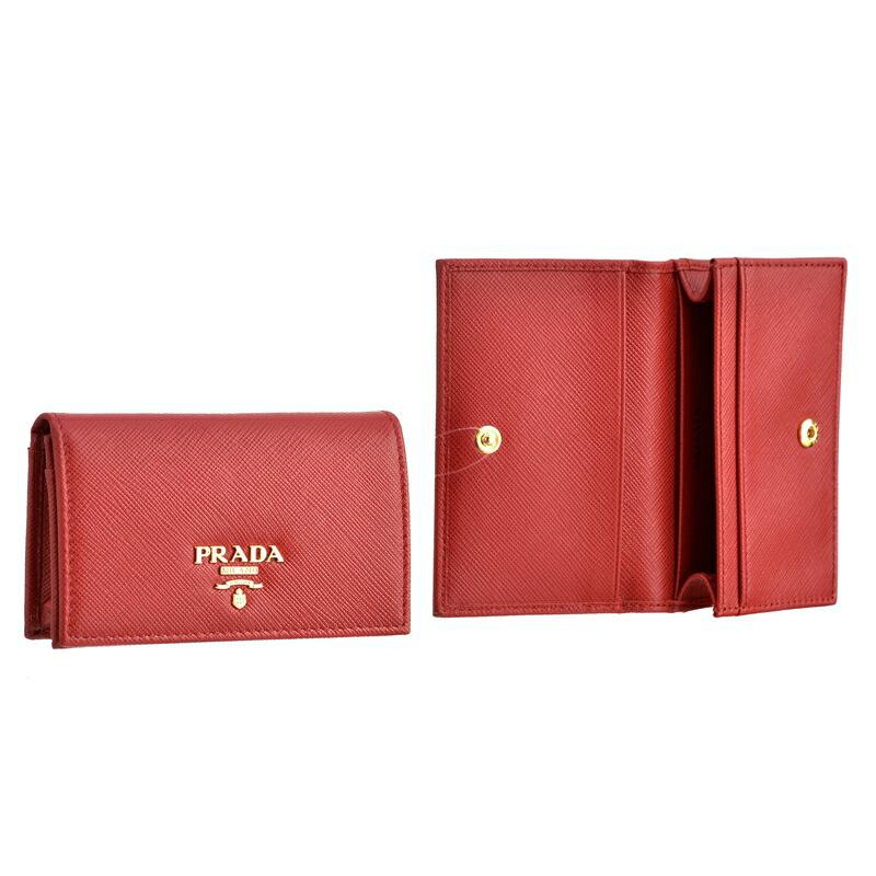 プラダ PRADA カードケース SA/M/O 1MC122 FUOCO