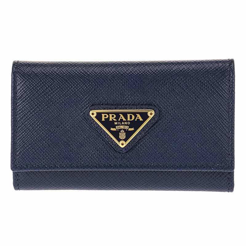 プラダ PRADA キーケース 1PG222 BLUETT