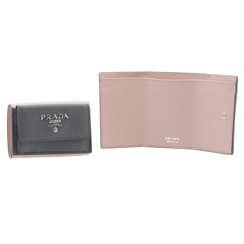 プラダ PRADA 三つ折財布 1MH021 MAR/PES