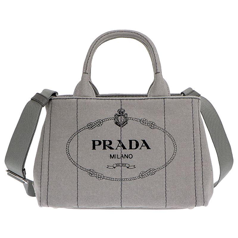 プラダ PRADA ハンドバッグ 1BG439 NUBE DENIM