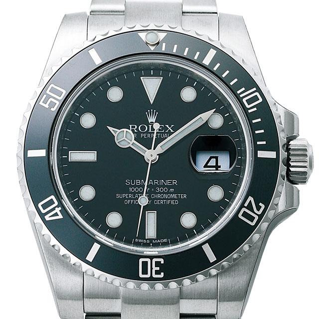 ロレックス ROLEX サブマリーナ デイト メンズ 腕時計 ブラック 116610LN